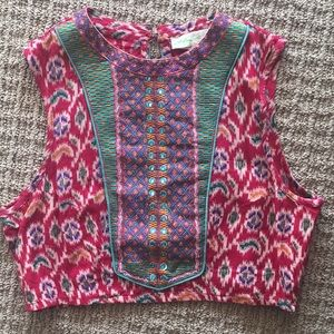 Indian inspired crop top from Urban Outfitters